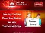 Why you should use Buy YouTube Subscribers Services?