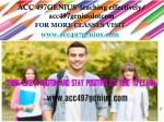 ACC 497GENIUS teaching effectively/ acc497geniusdotcom