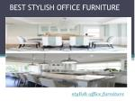 Stylish Office Furniture Provider at Affordable Cost