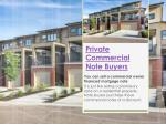 Commercial Note Buyers