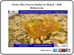 Order Mix Sweets Online in Malad - MM Mithaiwala