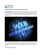 Web development (9899756694) at affordable price company in Noida India-EarnbyMarketing.com