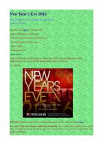 #1 New Year's Eve 2016 party in NYC