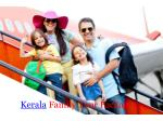 Perfect Kerala tour packages