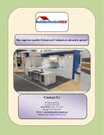 Buy superior quality Fabuwood Cabinets at attractive prices!