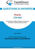 Oracle 1Z0-860 Exam Questions