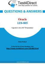 Oracle 1Z0-805 Exam - Updated Questions