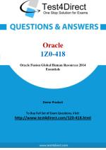 Oracle 1Z0-418 OPN Certified Specialist Exam Questions