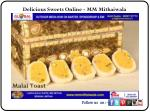 Delicious Sweets Online - MM Mithaiwala