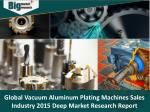 Vacuum Aluminum Plating Machine Sales Industry - Market Analysis and Trends Insights 2015
