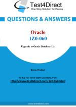 Oracle 1Z0-060 Database Real Exam Questions
