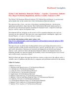 Cold Insulation Materials Market Analysis And Segment Forecasts To 2015