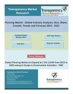 Flooring Market - Global Industry Analysis and Forecast 2023