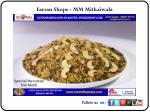 Farsan Shops - MM Mithaiwala