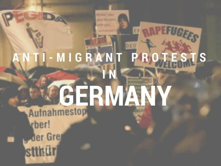 anti migrant protests in germany n.
