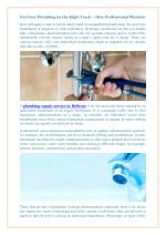 Get Your Plumbing on the Right Track – Hire Professional Plumber