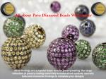 Pave Diamond Charms by Gemco Design