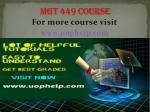 MGT 449 Instant Education/uophelp
