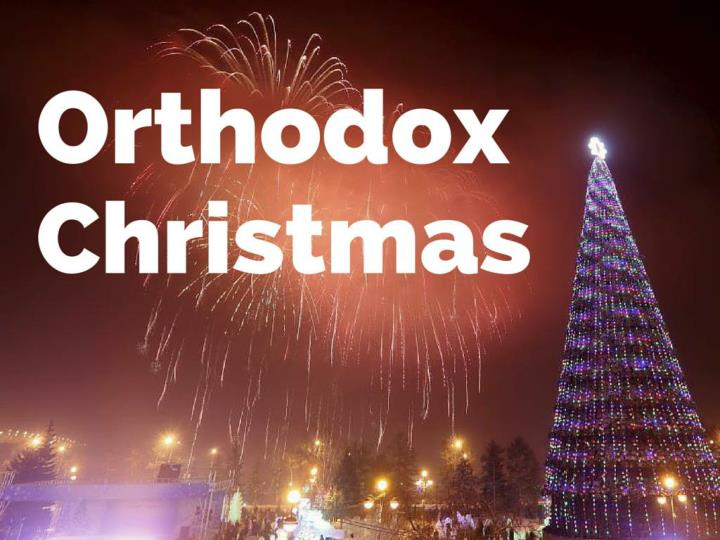 orthodox christmas n.