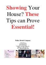 Showing your House? These Tips can Prove Essential!
