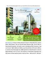 Dream Home-Patel Neotown@ Rs.16.93/- Lacs*, Special Offer for Govt./Corp. & PSU, Noida Extension, Greater Noida West