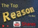 The Top Reasons to Buy YouTube Shares