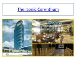 The Iconic Corenthum prices, office space in noida sector 62 noida