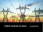 Power Trading in India