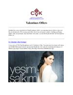 St valentine day packages - cvk hotels and resorts