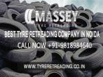 Reliable tyre retreading in Noida by MASSEY