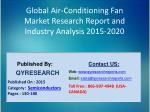 Global Air-Conditioning Fan Market 2015 Industry Shares, Insights, Development, Growth, Overview and Demands