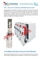 Vacuum Circuit Breaker – VCB Manufacturers India