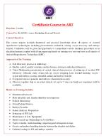 Certificate Course in ART | Hands on IVF and ICSI Training