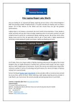 Hire Laptop Repair Lake Worth