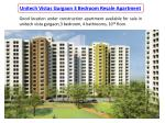Unitech Vistas Gurgaon 3 Bedroom Resale Apartment