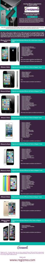 ReGizmo – Trusted name for buying iphone parts online in UK