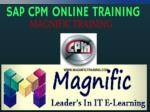 Sap Commercial Project Management online Training in UK