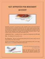 Why merchant account is compulsory for credit card processing