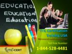 ITIL Specialist Training 1-844-528-4481 in Certification USA