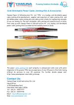 Cable Jointing Kits Manufacturers India