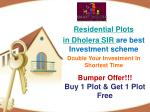 Residential Projects In Dholera SIR