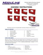 SELECT SERIES Aluminum Cabinet Assembly Instructions