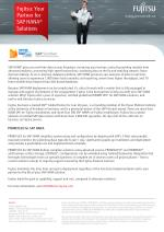 Collaborate with Fujitsu for deployment of SAP HANA Solutions