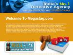 Private Detective Agency | Megastag