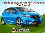 The Best Way To Go For Travellers : Car Rental