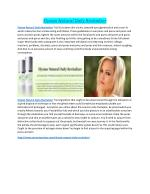 Elysian Natural Daily Revitalizer naturally skin get youthful 100%