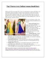 Indian Sarees Online Shopping - Women Designer Sari Online Shopping