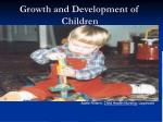 growrh and development of child
