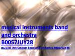 musical instruments band and orchestra B0057JUY28
