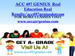 ACC 497 GENIUS Real Education Real Results/acc497geniusdotcom